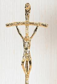 papal crucifix gold papal crucifix of pope paul