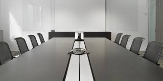 Black Meeting Table Al Conference Bene Office Furniture