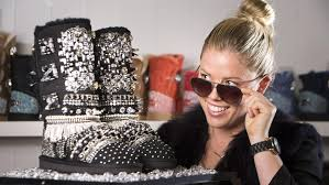 ugg boots australian made and owned 15 000 pair of ugg boots displayed on gold coast the courier mail