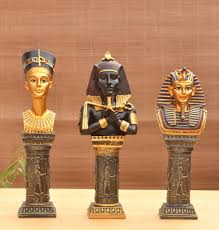 compare prices on egyptian decoration home statues online