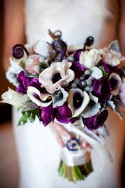 wedding flowers purple 167 best purple wedding bouquets etc images on