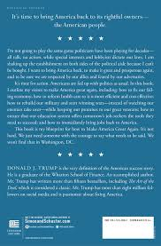 Donald Burns Resume Writer Great Again Book By Donald J Trump Official Publisher Page