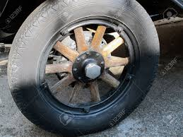 wooden car car wheel with wooden spokes stock photo picture and royalty free