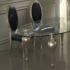 Glass Dining Table And 4 Chairs by Oval Glass Top Dining Table Set Furniture Oval Glass Top Dining