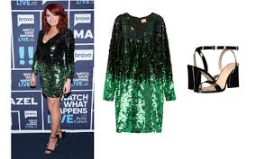 southern charm kathryn calhoun dennis green sequined dress and