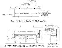 fiberglass deck architectural drawings eastern fiberglass company