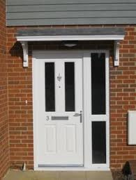 Door Awning Kits Awnings For Doors Tapco Cottage Portico Single Door Canopy The