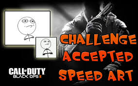 Black Ops 2 Memes - emblema black ops 2 speed art meme challenge accepted youtube