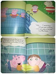 personalised u0027peppa pig u0027 swimming review theboyandme