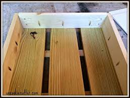 build your own stacked crate end table hometalk