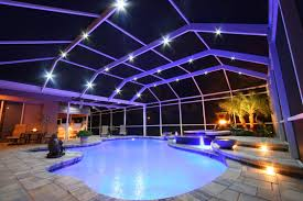 pool lighting ideas u2013 complete guide for basic types to pros and