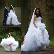 online shop saudi arabic high low wedding dress victorian ball