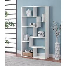 mainstays home 8 shelf bookcase multiple finishes walmart com