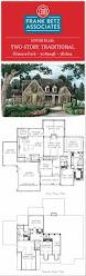 southern living floorplans filmore park 3089sqft 3bdrm two story traditional frank betz
