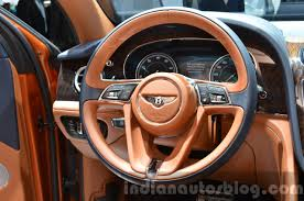 bentley steering wheel bentley bentayga front at the iaa 2015 indian autos blog