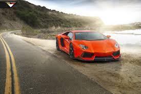 Lamborghini Aventador On Road - lamborghini aventador wears vorsteiner suit and true directional