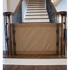 Safety Gate For Stairs With Banister Retractable Baby Gates You U0027ll Love Wayfair