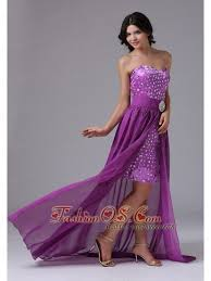 detachable high low and rhinestones over skirt for prom dress in