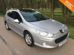 peugeot car history used peugeot 407 sw estate 2 0 hdi fap sport 5dr in henfield west