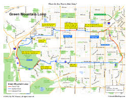 Littleton Colorado Map by Coloradobikemaps
