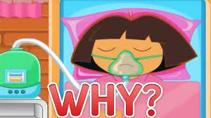 Dora The Explorer Meme - why is dora the explorer in a coma youtube