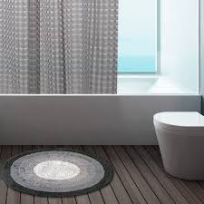 Circular Bathroom Rugs by 100 Cotton Round Bath Mats Bathroom Washable Mat Towel Like