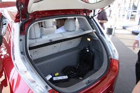 nissan leaf trunk space my nissan leaf review two weeks into the journey driving