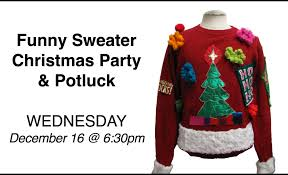 the brook chicago il u003e ugly sweater christmas party u0026 potluck