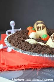 Halloween Graveyard Dirt Cake Recipe by Ghoulish Grub