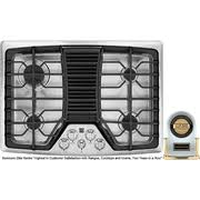 30 Gas Cooktop With Downdraft Kenmore Elite 30