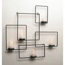 Stickers Home Decor Wall Candle Holders With Decorative Candle