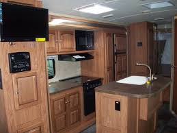 hybrid kitchen new 2015 shamrock 23ikss hybrid with kitchen island