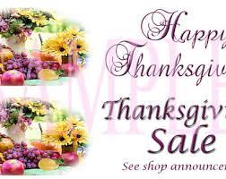 Thursday Thanksgiving Sales Thanksgiving Sale Etsy