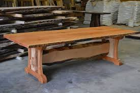 hand crafted kitchen tables live edge kitchen table gallery including and slab tables trends