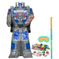 optimus prime pinata rescue bots and transformers birthday party happy and blessed home