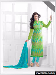 pista color pista color chanderi embroidered party wear salwar