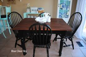 Painted Kitchen Table And Chairs by Incredible Painting Kitchen Table And How To Paint Chairs Trends