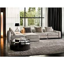 High Back Sectional Sofas by Minotti Jagger High Back And Slim Armrest Sectional Sofa Style