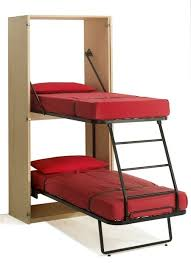 Bunk Bed Ideas For Tiny Houses For Tiny House Families - Folding bunk beds