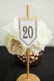 diy table number holders check out these unique diy hanging table number stands with free