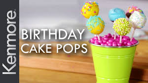 how to make birthday cake pops easy cake pops tutorial kenmore