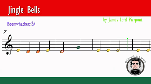 boomwackers tubes sheet music jingle bells youtube