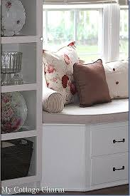 Build A Window Seat - my cottage charm how to build a window seat