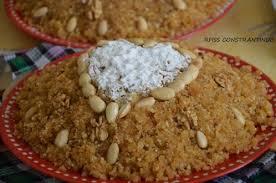 cuisine de constantine rfiss constantinois merveilleux plat sucré algérien originaire de la