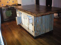 Kitchen Island Made From Reclaimed Wood Kitchen Island Made From Reclaimed Wood The Useful And