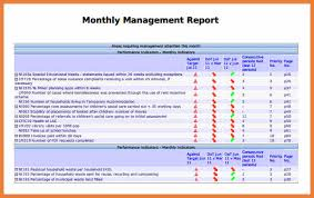 how to write a monthly report template monthly report template sop