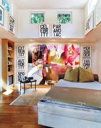 Home Interior Magazines Inside Former Model Anne Anka U0027s Art Filled West Hollywood Home W