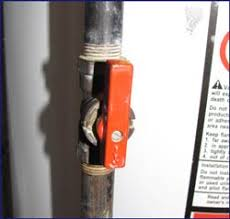 Gas Faucet How To Turn Off A Water Heater Water Heaters Plumbing