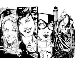 gotham city sirens feat poison ivy catwoman harley quinn