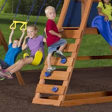 backyard discovery somerset all cedar playset the home image with